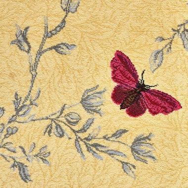 Yellow Ruskin Butterfly - 6/50155